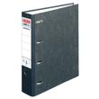 Doppelordner A4 für 2x A5 quer 80mm schwarz Pappe Herlitz 5190806 Produktbild