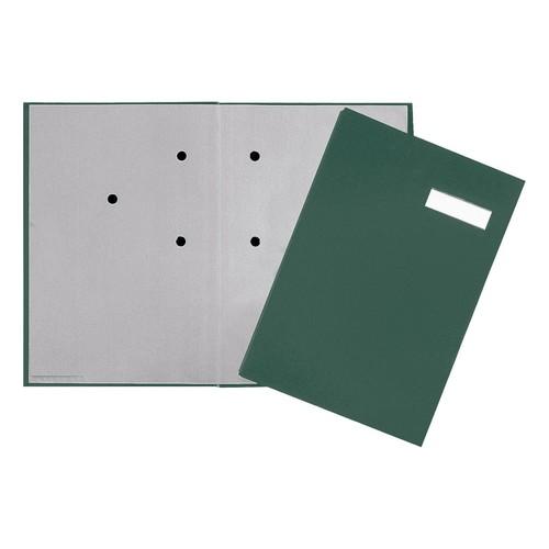 Unterschriftsmappe 20Fächer A4 grün 24192-33 Produktbild
