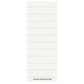 Blanko-Schildchen für Hängemappen 60x14mm weiß Leitz 1902-00-01 (BTL=100 STÜCK) Produktbild