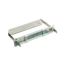 Fastener Heftverschluss Aufreihband und Deckschiene mit zwei Schiebern für 350Blatt Metall Leitz 3068-00-00 (PACK=50 STÜCK) Produktbild
