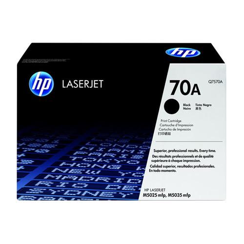 Toner 70A für LaserJet M5025MFP/M5035 15000Seiten schwarz HP Q7570A Produktbild Front View L