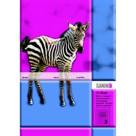 Heft starker Deckel A5 Lineatur 3 3.Schuljahr 16Blatt 80g holzfrei weiß Landré 100050069 Produktbild