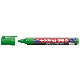 Whiteboardmarker 360 1,5-3mm Rundspitze grün trocken abwischbar Edding 4-360004 Produktbild