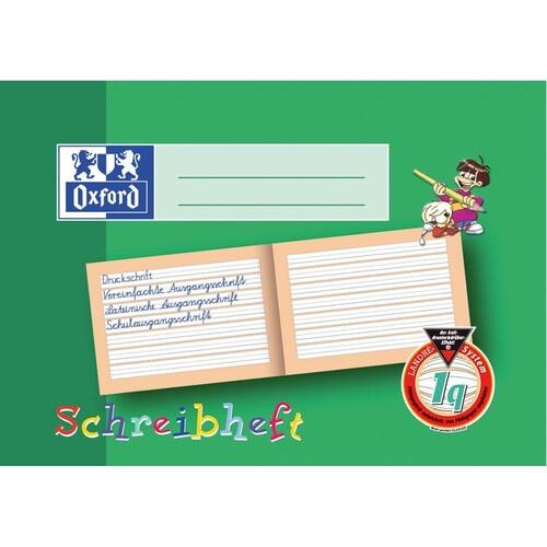 Schreiblernheft Oxford A5 quer Lineatur 1q 1.Schuljahr 16Blatt 90g Optik Paper 100050101 Produktbild Additional View 1 L