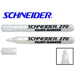 Lackmarker Maxx 270 1-3mm weiß Schneider 127049 Produktbild