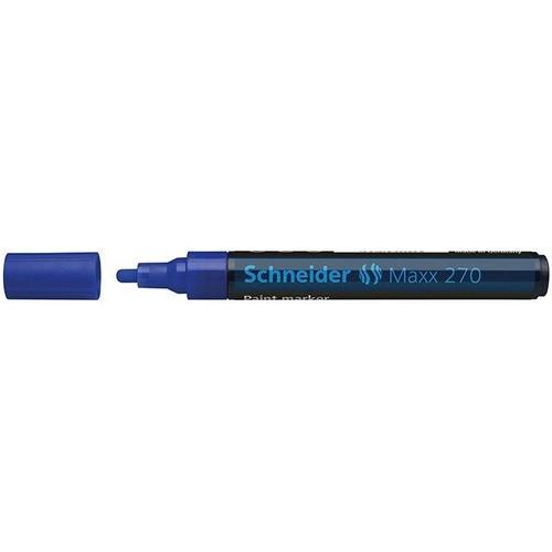 Lackmarker Maxx 270 1-3mm blau Schneider 127003 Produktbild Front View L