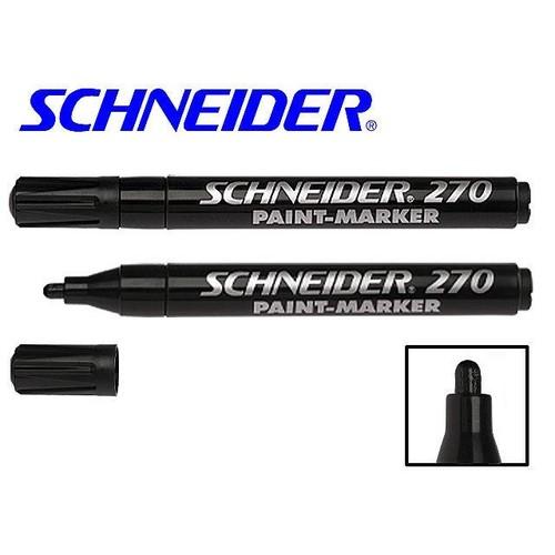 Lackmarker Maxx 270 1-3mm schwarz Schneider 127001 Produktbild Front View L