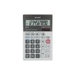 Tischrechner 10-stelliges LCD-Display 100x151,5x33mm Solar-/Batteriebetrieb Sharp EL-M711GGY Produktbild