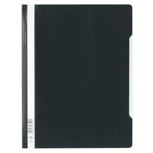 Schnellhefter Standard A4 schwarz Hartfolie Durable 2570-01 Produktbild