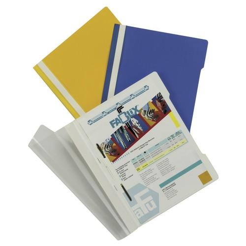 Schnellhefter Standard A4 grau Hartfolie Durable 2570-10 Produktbild Additional View 2 L