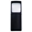 Rechteck-Lupe mit LED-Beleuchtung 3-fach 118x47x14mm schwarz WEDO 2717501 Produktbild