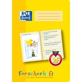 Forscherheft Oxford A4 Lineatur 2F 16Blatt 90g gelb 100050095 Produktbild