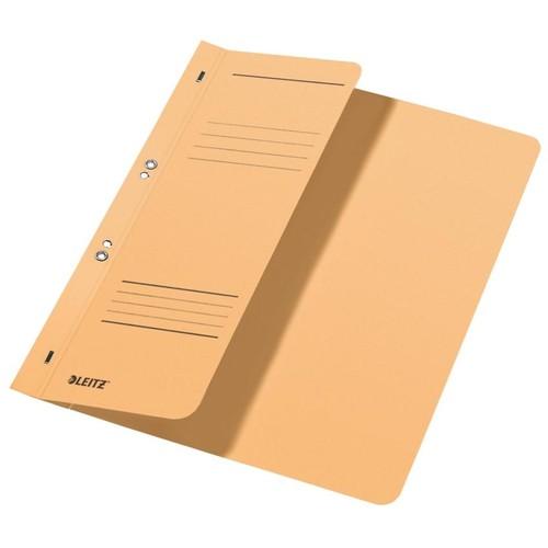 Ösenhefter 1/2 Vorderdeckel Amtsheftung 240x305mm für 170Blatt chamois Karton Leitz 3741-00-11 Produktbild Front View L