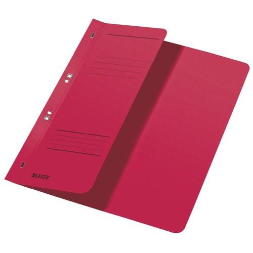 Ösenhefter 1/2 Vorderdeckel Amtsheftung 240x305mm für 170Blatt rot Karton Leitz 3741-00-25 Produktbild Front View L