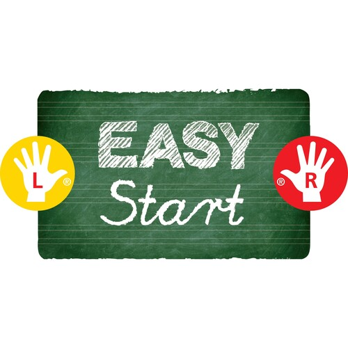 Farbstift EASYcolors Linkshänder ultramarinblau Stabilo 331/405-6 Produktbild Back View L