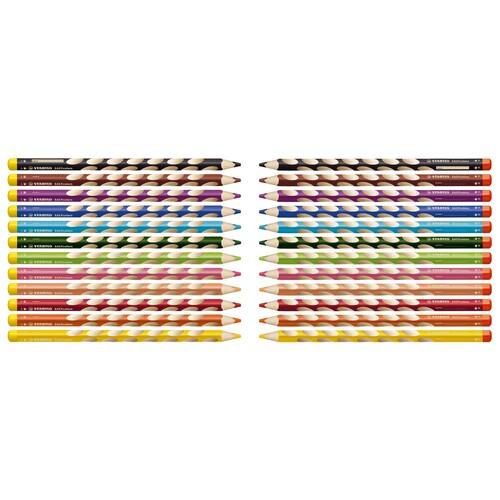 Farbstift EASYcolors Linkshänder gelbgrün Stabilo 331/550-6 Produktbild Additional View 6 L