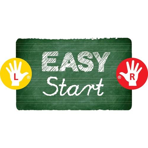 Farbstift EASYcolors Linkshänder gelbgrün Stabilo 331/550-6 Produktbild Back View L