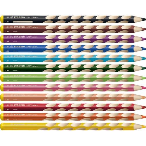 Farbstift EASYcolors Linkshänder hellbraun Stabilo 331/655-6 Produktbild Additional View 7 L