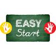 Farbstift EASYcolors Rechtshänder himmelblau Stabilo 332/455 Produktbild Side View S