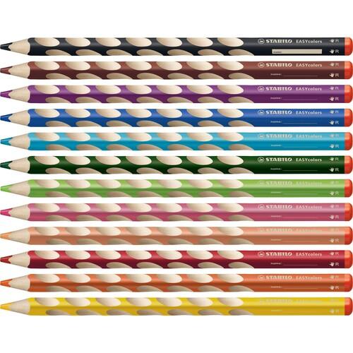 Farbstift EASYcolors Rechtshänder himmelblau Stabilo 332/455 Produktbild Additional View 9 L