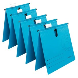 Hängehefter UniReg kaufmännische Heftung blau Herlitz 5874961 (PACK=5 STÜCK) Produktbild