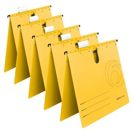 Hängehefter UniReg kaufmännische Heftung gelb Herlitz 5874979 (PACK=5 STÜCK) Produktbild