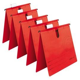 Hängehefter UniReg kaufmännische Heftung rot Herlitz 5874995 (PACK=5 STÜCK) Produktbild