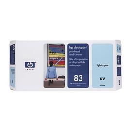 Druckkopfpatrone inkl. Reiniger 83 für HP DesignJet 5000/5500 UV cyan hell HP C4964A Produktbild
