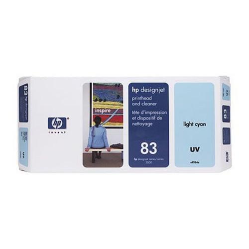 Druckkopfpatrone inkl. Reiniger 83 für HP DesignJet 5000/5500 UV cyan hell HP C4964A Produktbild Front View L