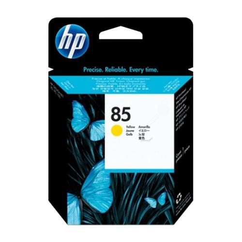 Druckkopfpatrone 85 für HP DesignJet 30/90/130 20ml yellow HP C9422A Produktbild Front View L