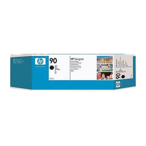 Tintenpatronen 90 Multipack für HP DesignJet 4000/4500 3x775ml schwarz HP C5095A (PACK=3 STÜCK) Produktbild Front View L