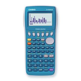 Graphischer Schulrechner 6-zeiliges Display 396 Funktionen 19,3x81,5x163mm Batteriebetrieb Casio FX-7400GII-B Produktbild