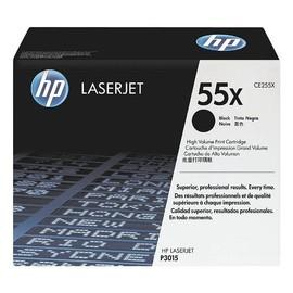 Toner 55X für Laserjet P3010/P3015 12500Seiten schwarz HP CE255X Produktbild