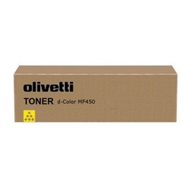 Toner für D-Color MF450/550 27000Seiten yellow Olivetti B0652 Produktbild
