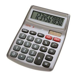 Taschenrechner 10-stelliges Display 540 140x105x30mm Solar-/Batteriebetrieb Genie 10272 Produktbild