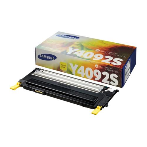 Toner Y4092S für Samsung CLP-310/315/ CLX3170/3175 1000Seiten yellow SU482A Produktbild Front View L