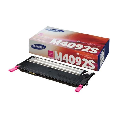Toner M4092S für Samsung CLP-310/315 CLX3170/3175 1000Seiten magenta SU272A Produktbild Front View L