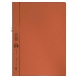 Klemmhandmappe A4 bis 10Blatt orange Karton Elba 40001027 Produktbild