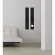 Glas-Magnetboard artverum 120x780x15mm schwarz inkl. Magnete Sigel GL100 Produktbild Additional View 7 S