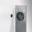 Glas-Magnetboard artverum 120x780x15mm rot inkl. Magnete Sigel GL104 Produktbild Additional View 1 S