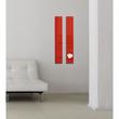 Glas-Magnetboard artverum 120x780x15mm rot inkl. Magnete Sigel GL104 Produktbild Additional View 7 S
