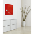 Glas-Magnetboard artverum 480x480x15mm rot inkl. Magnete Sigel GL114 Produktbild Additional View 6 S