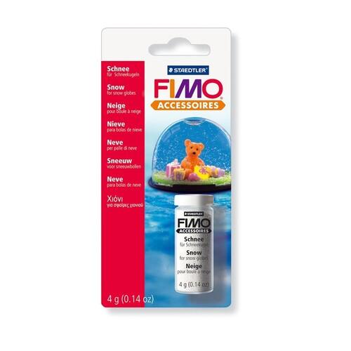 Schnee FIMO 4ml Staedtler 8613BK Produktbild Front View L
