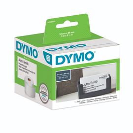 LabelWriter-Terminvereinbarungskarte/ Namensschild nicht klebend 89x51mm weiß Dymo S0929100 (PACK=300 STÜCK) Produktbild