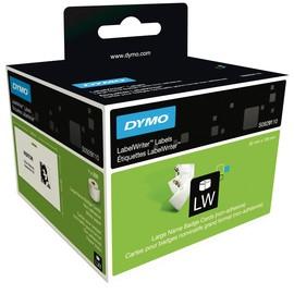 LabelWriter-Namensschilder nicht klebend 106x62mm weiß Dymo S0929110 (RLL=250 ETIKETTEN) Produktbild