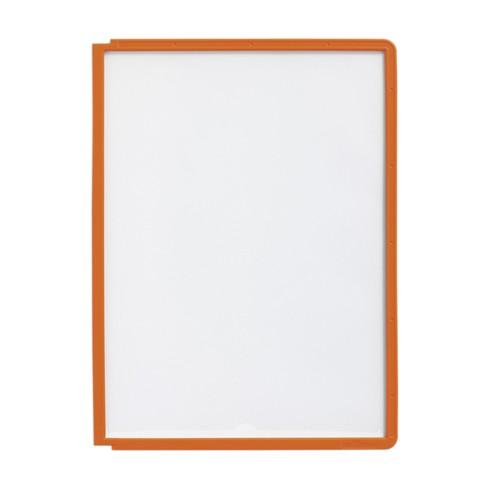 Sichttafeln SHERPA A4 für Tafelträger orange Durable 5606-09 (PACK=5 STÜCK) Produktbild