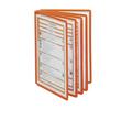 Sichttafeln SHERPA A4 für Tafelträger orange Durable 5606-09 (PACK=5 STÜCK) Produktbild Additional View 2 S