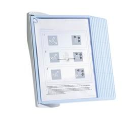 Sichttafelwandhalter SHERPA BACT-O-CLEAN WALL 10 A4 inkl. 10 Sichttafeln antibakteriell Durable 5911-00 Produktbild