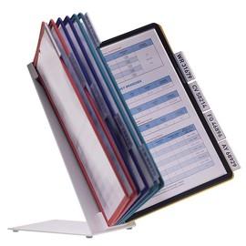 Sichttafeltischständer VARIO TABLE 10 5683 + 10 Sichttafeln 5606 Durable 5570-00 Produktbild