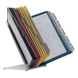 Sichttafeltischständer VARIO TABLE 30 5685 + 30 Sichttafeln 5606 Durable 5510-00 Produktbild